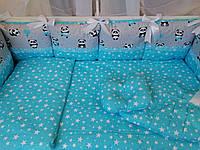 """Комплект детского постельного белья """"Сomfort"""" с ортопедической подушкой, фото 1"""