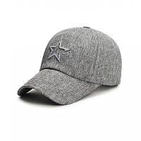 Модная кепка Sports серого цвета