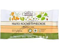 """Мыло косметическое Зеленая Аптека """"Облепиха и липа"""""""