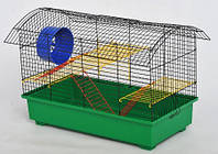 ЛОРИ Клетка для грызунов Биг-Вагон краска 610*395*405