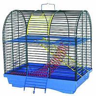 ЛОРИ Клетка для грызунов Бунгало-2 цинк 330*230*330