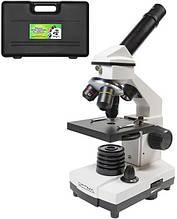 Микроскоп Optima Discoverer 40x и 1280x Set плюс камера, черный с белым