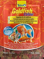 Тetra (Тетра) Основной корм в хлопьях для улучшения окраса золотых рыбок Goldfish Colour 10мл