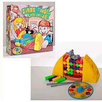 Настольная игра B3108 Мышка любит сыр, блоки, фигурка, рулетка