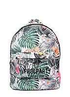 Рюкзак POOLPARTY с тропическим принтом, фото 1