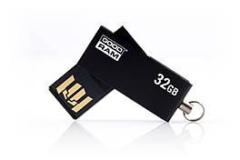 Флешка USB 32GB GoodRam UCU2 (Cube) Black (UCU2-0320K0R11)