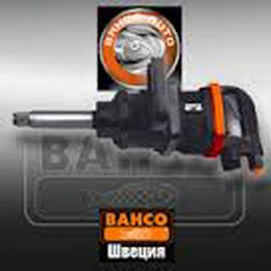 """Пневмогайковерт 1"""" ударный, длинная ось, BAHCO BP900L, фото 2"""