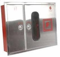 Пожарный шкаф Goobkas ШПК-315 из нержавеющей стали