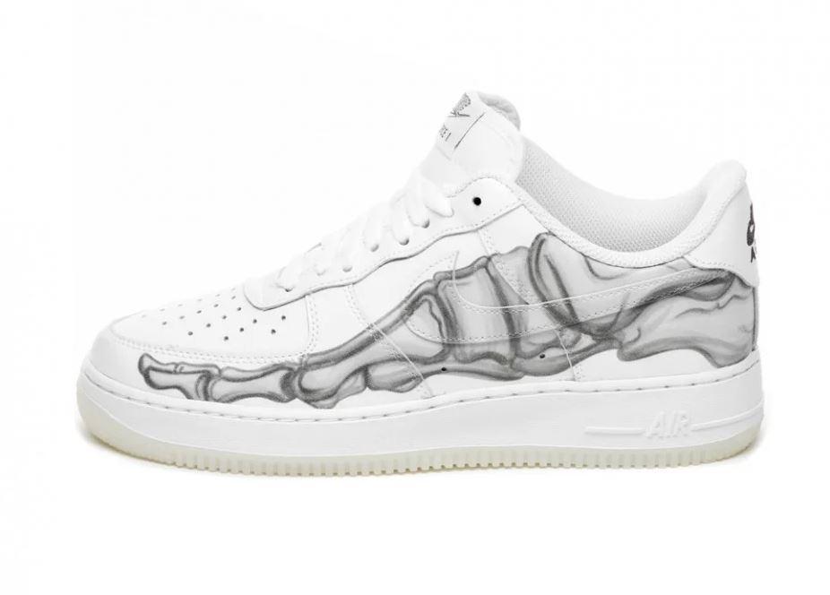 """Кроссовки Nike Air Force 1 Skeleton """"Белые"""""""