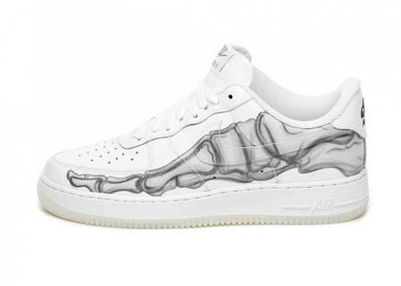 "Кроссовки Nike Air Force 1 Skeleton ""Белые"", фото 2"