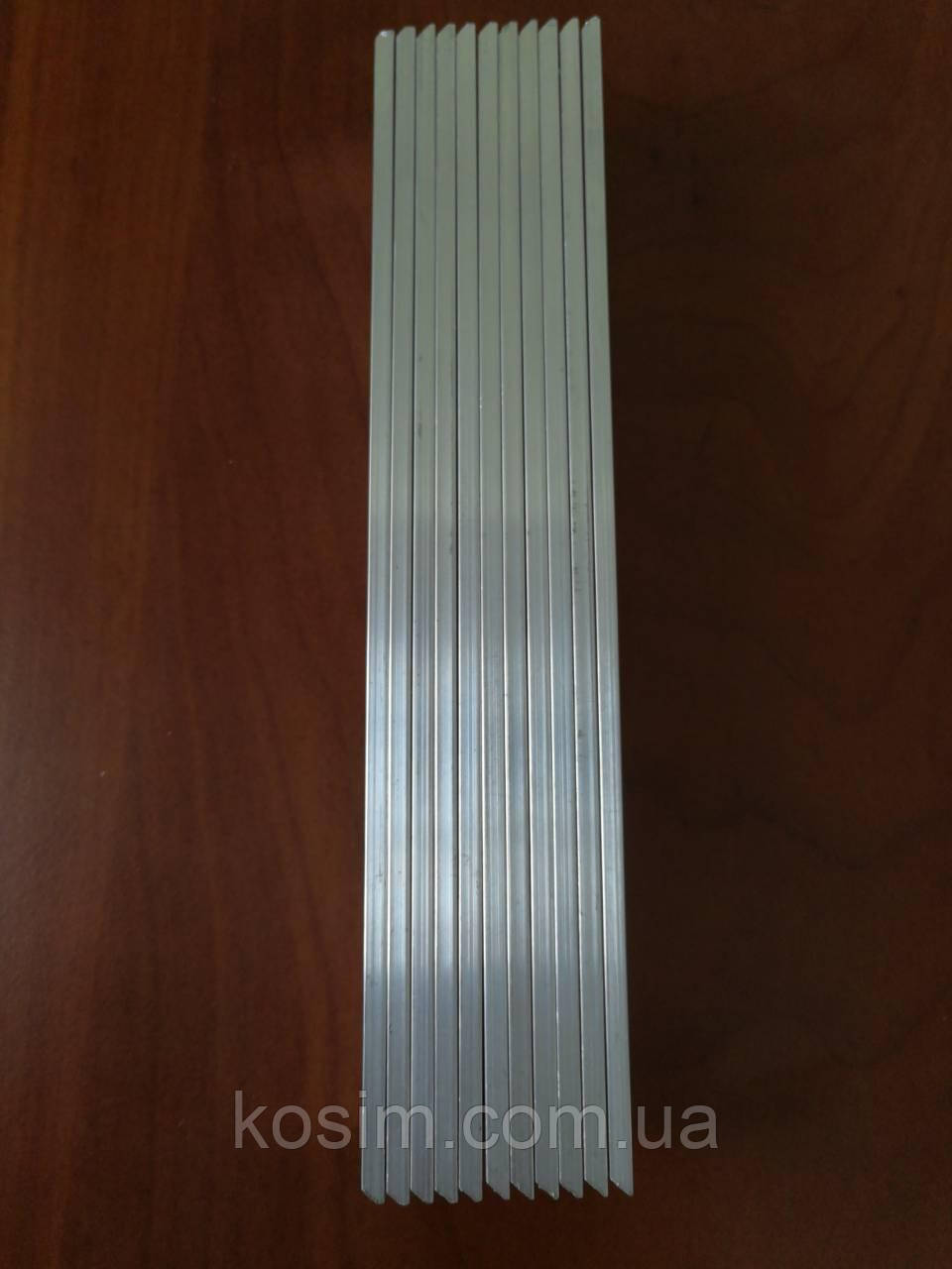 Услуга приклейки точильного камня на алюминиевый бланк