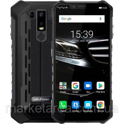 Телефон защищенный Ulefone Armor 6E black 4/64ГБ NFC