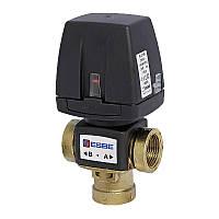 """Клапан 1"""" ESBE VZC162 DN20, kvs 6, 230В 2 точки, кабель 1,6 м, переключающий трехходовой зонный Эсбе 43060800"""