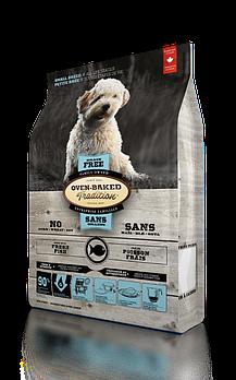 Беззерновой сухой корм Oven-Baked Tradition для собак малых пород со свежего мяса рыбы, 1 кг