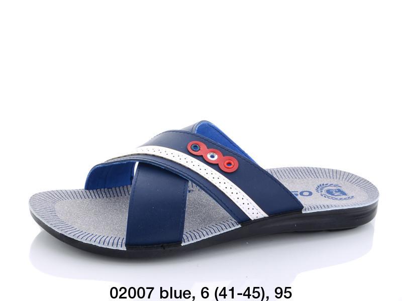 Шлепанцы Oscar 02007 blue