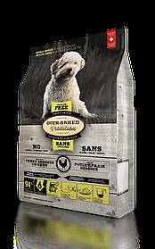 Oven-Baked Tradition беззерновой сухой корм для собак малых пород со свежего мяса курицы 1 кг