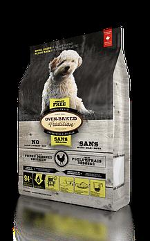 Беззерновой сухой корм  Oven-Baked Tradition для собак малых пород со свежего мяса курицы, 5,67 кг