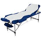 Массажный стол алюминиевый 3-х сегментный RelaxLine King кушетка массажная для массажа, фото 3