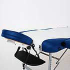 Массажный стол алюминиевый 3-х сегментный RelaxLine King кушетка массажная для массажа, фото 8