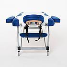 Массажный стол алюминиевый 3-х сегментный RelaxLine King кушетка массажная для массажа, фото 6
