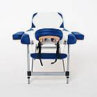 Массажный стол алюминиевый 3-х сегментный RelaxLine King кушетка массажная для массажа, фото 7