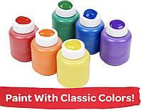 Crayola Washable. Набор из 6 моющихся красок