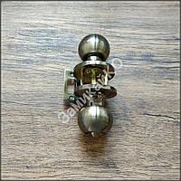 Ручка с защелка Avers 6072-01 AB бронза