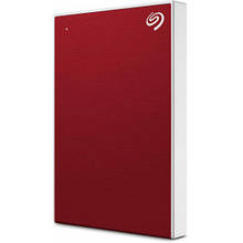 "Внешний жесткий диск HDD 2.5"" USB 1Tb Seagate Backup Plus Slim Red (STHN1000403)"