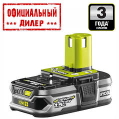 Аккумулятор Ryobi RB18L15 ONE+ (18 В, 1.5 А/ч)