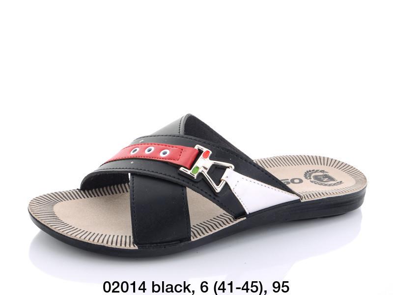 Шлепанцы Oscar 02014 black