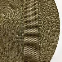 Лента ременная 100% Полиамид 40мм цв кайот (боб 50м) р 3451 Укр-б