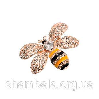 "Брошка Fashion Jewerly ""Бджілка"" (053165)"
