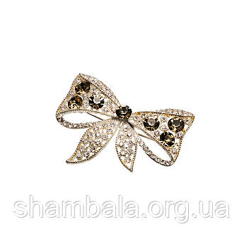"""Брошка Fashion Jewerly """"Exquisite bow"""" (053967)"""