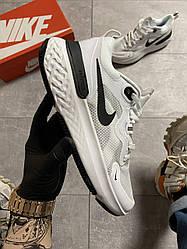 Чоловічі кросівки Nike Epic React Flyknit 3 White Black (білі)