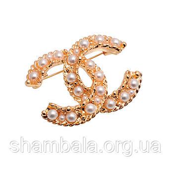 "Брошка Fashion Jewerly ""Logo"" (044781)"