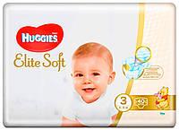 Подгузники Huggies Elite Soft 3 (5-9 кг) 40 шт.