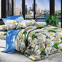 Двуспальный комплект постельного белья евро 200*220 хлопок  (14091) TM KRISPOL Украина