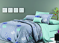 Двуспальный комплект постельного белья евро 200*220 хлопок  (11706) TM KRISPOL Украина