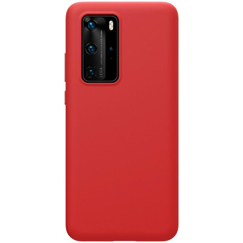 Nillkin Huawei P40 Pro Flex Pure Case Red Силиконовый Чехол