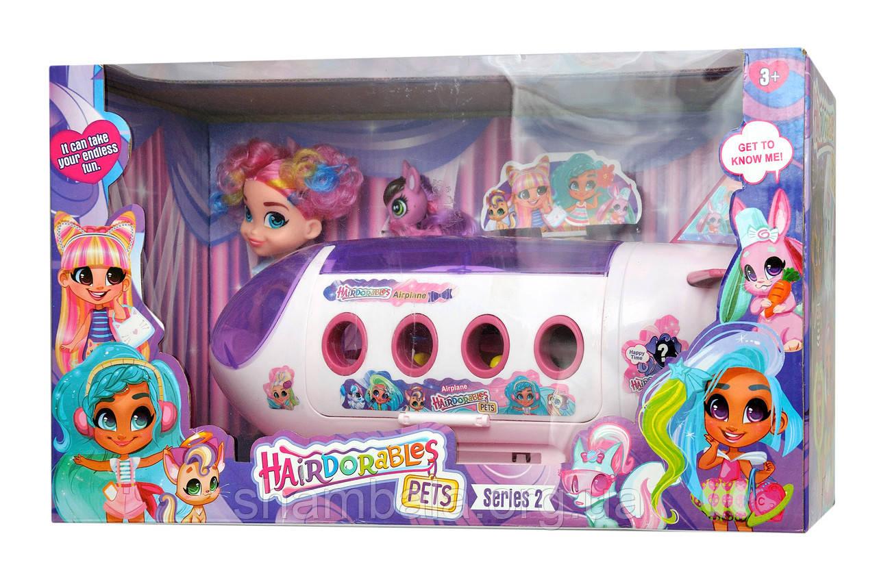 "Набор CH Toys ""Hairdorables Pets"" с аэрапланом (069395)"