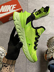 Мужские кроссовки Nike Air Jordan React Havoc VOLT(зеленые)