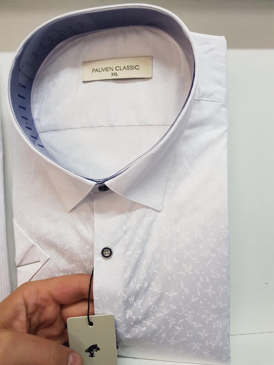 Біла сорочка з коротким рукавом Palmen