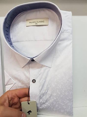 Біла сорочка з коротким рукавом Palmen, фото 2