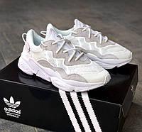 Стильные кроссовки Adidas OZWEEGO White, фото 1