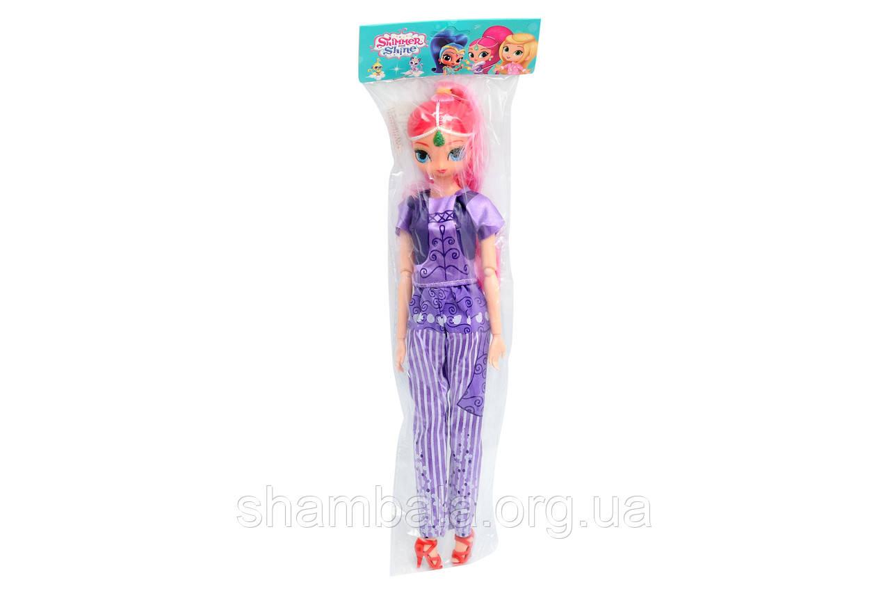 "Кукла ""Shimmer and shine"" в фиолетовом костюме (065519)"