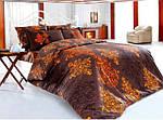 Двуспальное постельное бельё из ранфорса Majoli