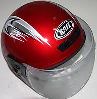 Шлем без бороды красный (открытый)