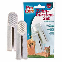 Trixie (Трикси) Набор зубных щеток для собак и кошек 2шт 6см