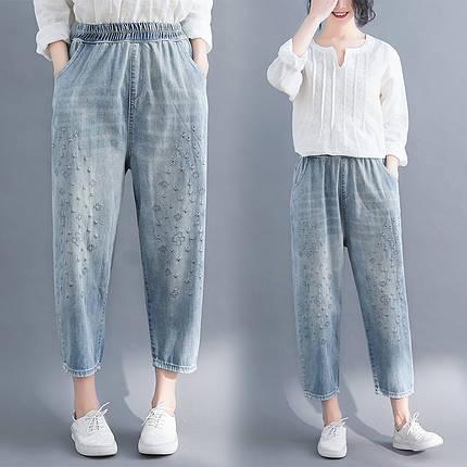 Женские джинсы большие размеры M - 4 XL, фото 2