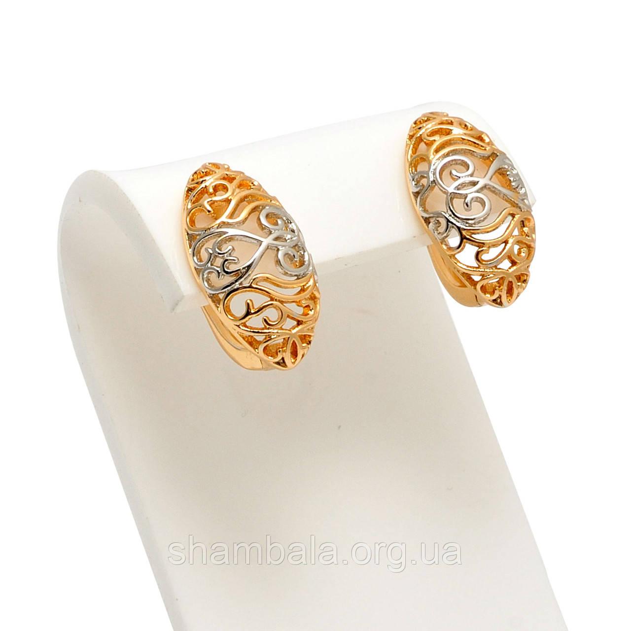 "Серьги Xuping Jewelry ""Pattern"" (059365)"
